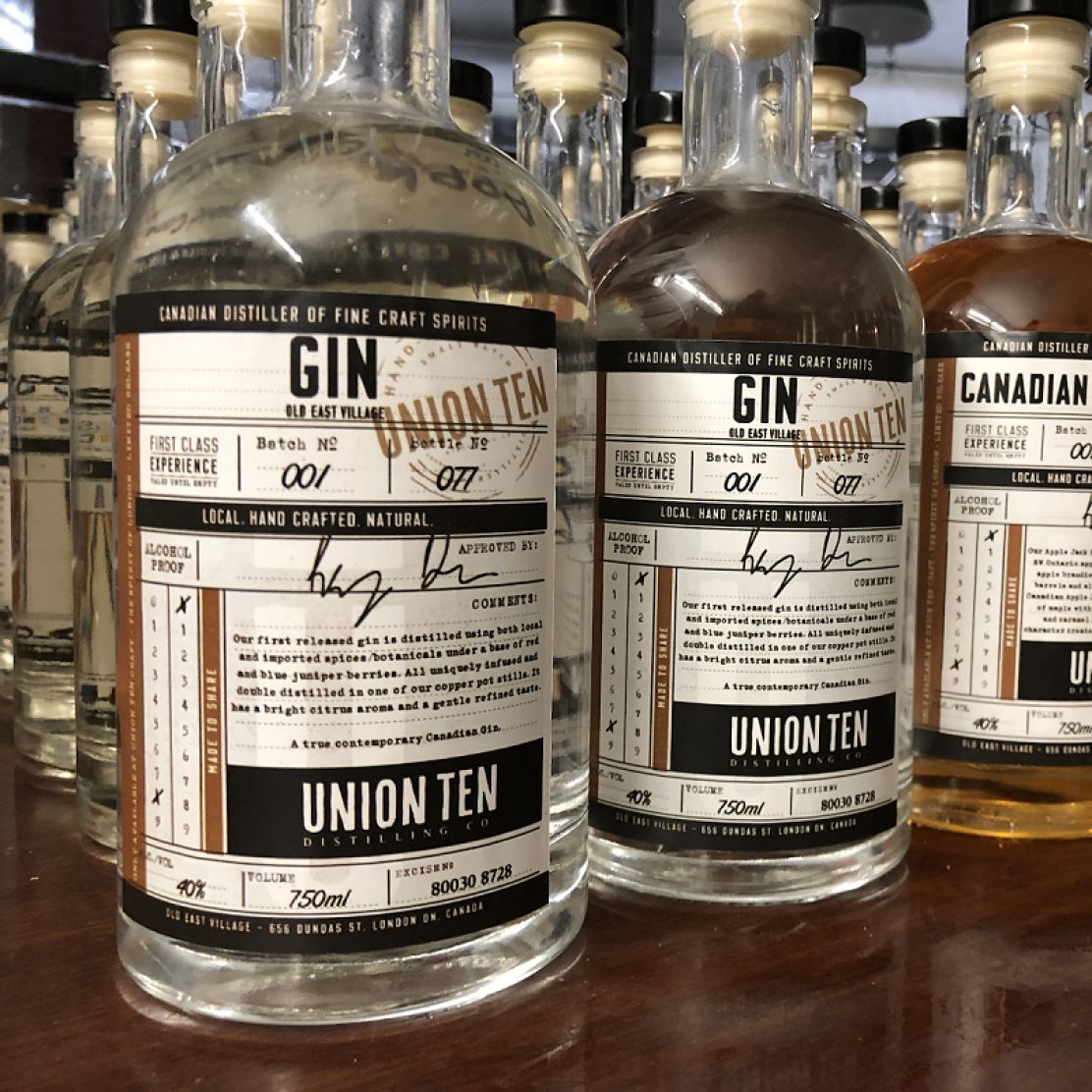 Photo for: Store Pick Up By Union Ten Distilling Co In Canada.