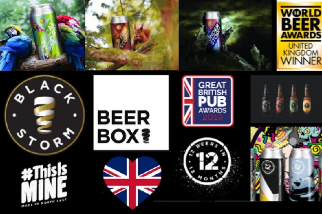Photo for: UK Beer Drinkers - Get Amazing Beers From Black Storm Brewery